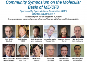 Community Symposium on the Molecular Basis of ME/CFS @ PAUL BREST HALL, 555 Salvatierra Walk Stanford University, Palo Alto, CA | Stanford | California | United States