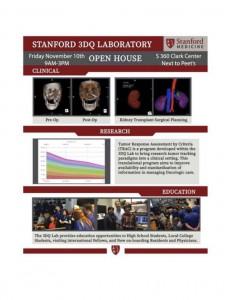 Stanford 3DQ Laboratory Open House @ S 360 Clark Center | Palo Alto | California | United States