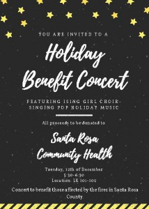 Holiday Benefit Concert for Santa Rosa Community Health @ Li Ka Shing Center, 101-102 | Palo Alto | California | United States