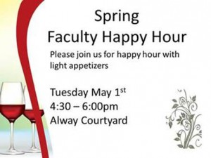Faculty Happy Hour @ Alway Courtyard | Palo Alto | California | United States