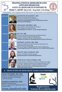 Translational Research and Applied Medicine Annual Research Symposium @ Paul Berg Hall, Li Ka Shing Center | Palo Alto | California | United States