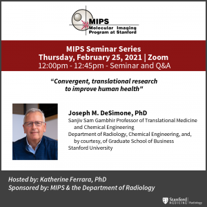 """MIPS Seminar: """"Convergent, translational research to improve human health"""" @ Zoom - See Description for Zoom Link"""
