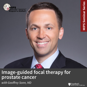 "MIPS Seminar: ""Image-guided focal therapy for prostate cancer' @ Zoom - See Description for Zoom Link"