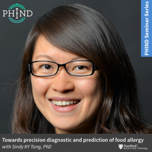 PHIND Seminar: Towards precision diagnostic and prediction of food allergy @ Zoom - See Description for Zoom Link
