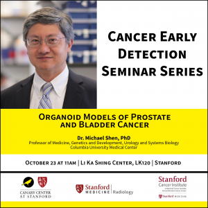 "CEDSS Seminar: ""Organoid Models of Prostate and Bladder Cancer"" @ Li Ka Shing Center, Lk120"