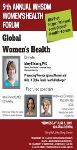 9th Annual WHSDM Women's Health Forum @ LKSC Berg Hall