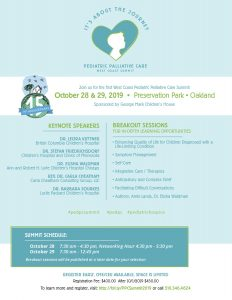 West Coast Pediatric Palliative Care Summit @ Preservation Park • Oakland