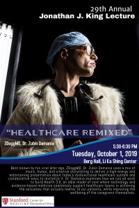 29th Annual Jonathan King Lecture: Healthcare Remixed @ LKSC Berg Hall