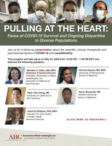 Pulling At the Heart: Faces of COVID-19 Survival and Ongoing Disparities in Diverse Populations