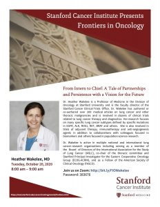 Frontiers in Oncology: From Intern to Chief: A Tale of Partnerships and Persistence with a Vision for the Future @ Online only