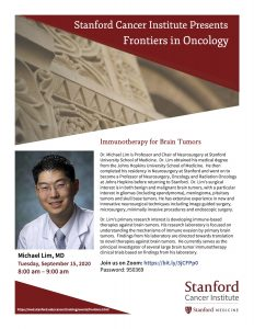 Frontiers in Oncology: Immunotherapy for Brain Tumors