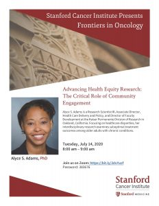 Frontiers in Oncology: Advancing Health Equity Research: The Critical Role of Community Engagement