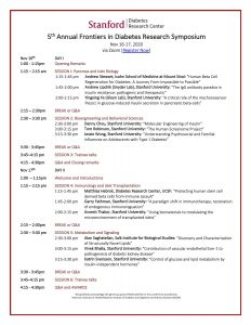 5th Frontiers in Diabetes Research Symposium @ Online only