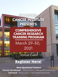 Comprehensive Cancer Research Training Program @ Online only