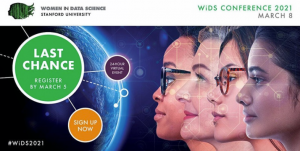 Women in Data Science (WiDS) Worldwide Conference @ Online Event