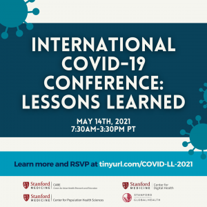 International COVID-19 Conference: Lessons Learned @ Online only