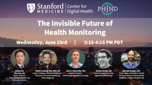 The Invisible Future of Health Monitoring @ Zoom Webinar